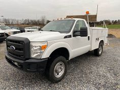 2011 Ford F-250 Super Duty 4WD Utility Truck. 6.2L V8 Gas Engine, Automatic Transmission, Reading Utility Body, Sliding Utility Bed Top, Ladder Rack, Tilt/Cruise, 232k Miles. One Owner Fleet Maintained. Call JT Auto Sales 717-619-7204 Call/Text 410-596-0596 www.yourtrucksforsale.com