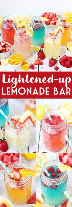 Lightened-up Lemonad