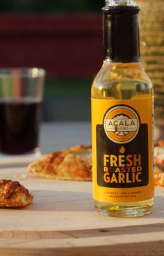Fresh Roasted Garlic Infused Cottonseed Oil by Acala Farms on Gourmly