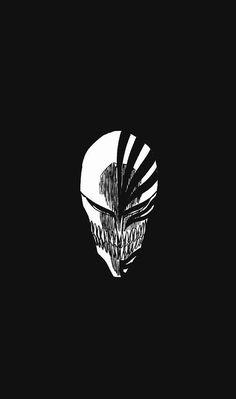 Bleach Ichigo Kurosaki Skull Anime Minimal 1080x1920 Wallpaper