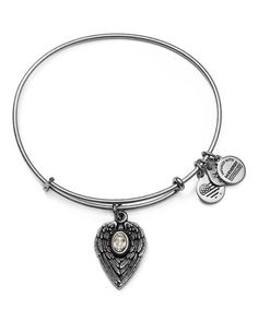 A sparkling Swarovski crystal center becomes the glowing light in the guardian angel winged charm on Alex and Ali's protective bangle. In honor of Mom December 2017 ♥️ Alex And Ani Jewelry, Alex And Ani Bracelets, Bangle Bracelets, Bangles, Other Accessories, Jewelry Accessories, Jewelry Ideas, The Guardian, Swarovski Crystals
