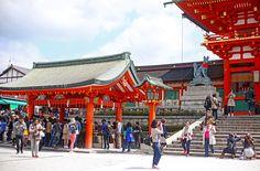 Travel Diary: Fushimi Inari Taisha - Camille Tries to Blog Fushimi Inari Taisha, Japan Travel, Kyoto, Blog, Blogging