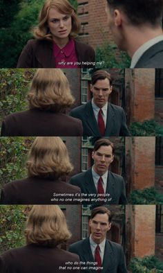 If men didn't underestimate women so much, can you imagine where we'd be right now? If men didn't underestimate women so much, can you imagine where we'd be right now? Best Movie Quotes, Tv Show Quotes, Film Quotes, The Imitation Game Quotes, Movies Showing, Movies And Tv Shows, Benedict Cumberbatch Sherlock, Movie Lines, Series Movies