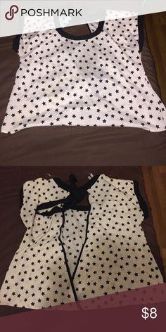 Women's open back shirt. Women's large open back shirt. Tops Blouses