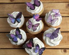 Shades of Pink Butterfly cake or cupcake toppers, 30 Butterflies Decorations, wafer paper,Read Item Details Butterfly Birthday Cakes, Pretty Birthday Cakes, Butterfly Cakes, 18th Birthday Party, Sweet 16 Birthday, Pretty Cakes, Cute Cakes, Butterfly Baby Shower, Butterfly Party