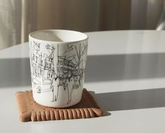Marimekko Hetkia / Moments mug and tray