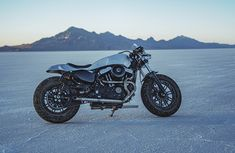 Every custom motorcycle builder has their own way of working: usually in solitude, with their own familiar tools and techniques honed over years of practice. So when David Chang from @caferacersofinstagram had the idea to round up some of the best bike builders in the business to create a custom motorcycle in a week to raise money for the charity Waves for Water, he always knew it was going to... Custom Motorcycle Builders, Custom Motorcycles, Harley Motorcycles, Access To Clean Water, Scrambler Custom, Bike Builder, Forty Eight, Custom Harleys, Cool Cafe