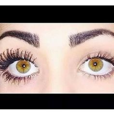 She has GORGEOUS EYES ALREADY, but WOW! Look at the difference in her lashes with the Younique 3D Fiber Lash Mascara! YOU should experience the difference too! . CLICK THE PHOTO TO ORDER!