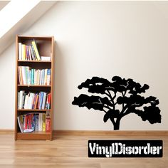 Tree Wall Decal - Vinyl Decal - Car Decal - 033
