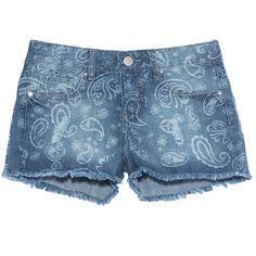 COSTUME Short jeans cashmere azul