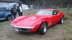 Corvette Stingray St Denis de l'Hotel (45) rassemblement de voitures americaines 13 Septembre 2015