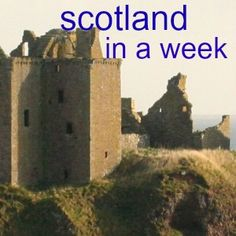 SCOTLAND - 'must see' information from a local travel expert