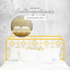 This minimalist iron headboard wall decal sticker design will add that touch of cosiness to your bedroom without braking your wallet. It was inspired by the. Wall Decal Sticker, Wall Stickers, Iron Headboard, Headboards For Beds, Bed Design, Chinoiserie, Bedroom Wall, Sticker Design, Minimalist