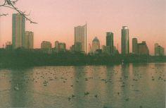 Austin Skyline at dusk.