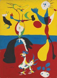 ▣ '꿈과 환상의 화가' 호안 미로(Joan Miro)의 작품 세계와 그림 가격 : 네이버 블로그