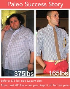 Paleo Success Story: Anthony lost 200 lbs in one year and has kept it off for five years