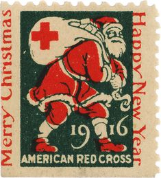 Christmas Seal, American Lung Association, 1916, design by Thomas M. Cleland '40