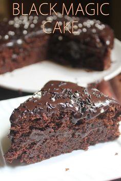 YUMMY TUMMY: Black Magic Cake Recipe - One Pot Chocolate Cake Recipe