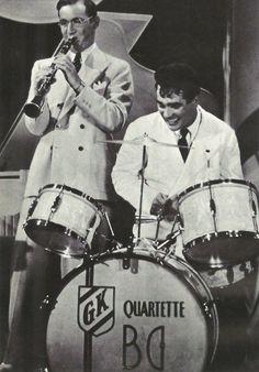 Benny Goodman and Gene Krupa