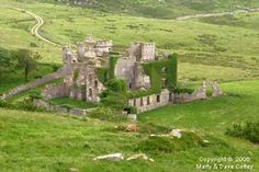 Glifden Castle, Clifden, County, Galway, Ireland