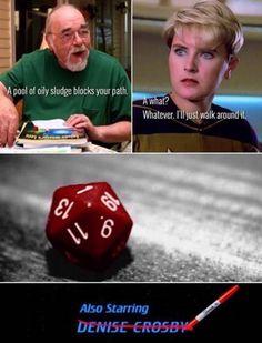 Funny Internet Memes, Funny Memes, Hilarious, Nerd Memes, Dnd Funny, Funny Signs, Star Wars, Star Trek Universe, Star Citizen
