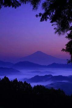 Violet sky...
