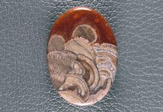 Designer Cabochon Mushroom Jasper NAC by VividGem on Etsy (Craft Supplies & Tools, Jewelry & Beading Supplies, Cabochons, designer cabochon, agate cabochon, gem, jasper cabochon, gemstone cabochons, gemstone cabochon, designer gemstone, cabachon, designer cab, designer gem, vividgem, jasper, mushroom jasper)