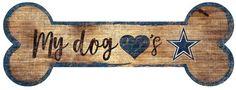 Fan Creations Dallas Cowboys Dog Bone Wall Sign