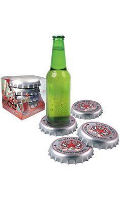 Spinning Hat Bottle Cap Coasters Best Price