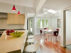 Contemporary Kitchens from Peter Feinmann on HGTV