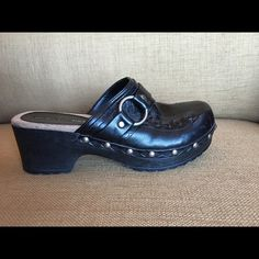 Clogs Size 5, black clogs, worn once or twice Shoes Mules & Clogs