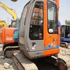 Most of the excavators have the basic tail swing models,but zero tail swing ones are also available to you. You can get all types of used excavators from our company. Used Excavators, Komatsu Excavator, Kato, Bucket, Construction, Models, Building, Life, Templates