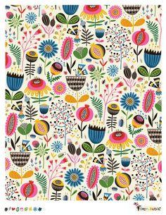 Helen Dardick fabric design