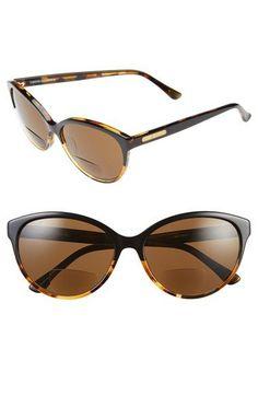 dff0bd663e Corinne McCormack  Brittany  58mm Cat Eye Reading Sunglasses