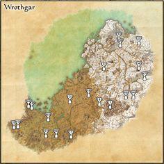 Elder Scrolls Online - Glenumbra Treasure Map I Location | ESO ...