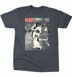 Empire is Over from BustedTees Princess Leia and Han Solo kiss