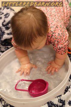 Water Play with Babies: Littleredbarn