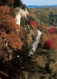 Biking the Katy Trail in Central MO along the banks of the scenic Missouri River