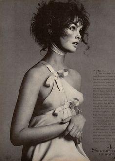 Heroines All - Jean Shrimpton as seen by Richard Avedon, Vogue US April 1968