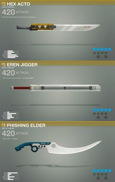 Exotic Swords