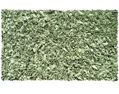 Shaggy Raggy Sage Sage Green Cotton Jersey Shag Rug