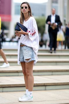 How to Make Your Old Denim Shorts Feel Brand New