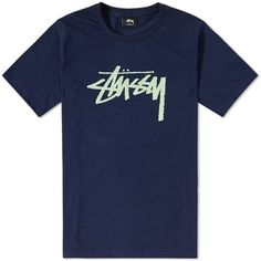 Stussy Stock Tee (350 HKD) ❤ liked on Polyvore featuring men's fashion, men's clothing, men's shirts, men's t-shirts, mens patterned t shirts, mens leopard print t shirt, mens short sleeve shirts, mens short sleeve cotton shirts and mens patterned shirts