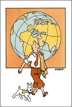 Tintin is global • Herge, Tintin et moi