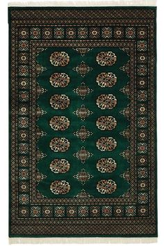 Love this rug! The greens and browns make me think of Ireland's hillsides and cliffs! Bokhara Area Rug HomeDecorators.com