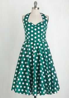 Like, Oh My Dot! Dress in Forest