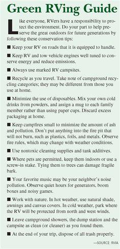 Green RVing Guide
