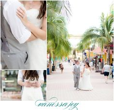 I absolutely adore this section of Cancun, Mexico! So much to work with when capturing photos. Want to see more? Click the link to view this destination wedding on the blog!
