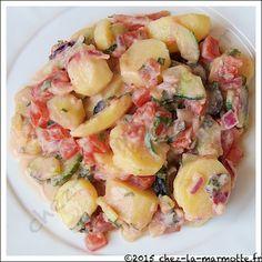 Salade de pommes de terre à la grecque | Marmotte cuisine !