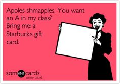 I am not a morning person, which worries me considering my career path. I made this eecard to foretell my future teacher self ;)